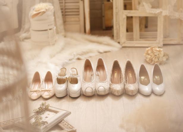 結婚式の靴