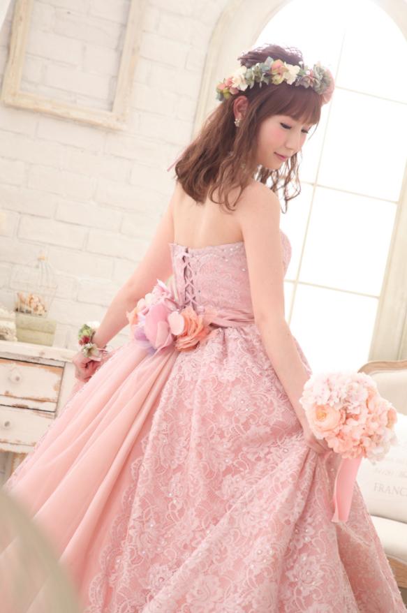フォトウェディングドレス