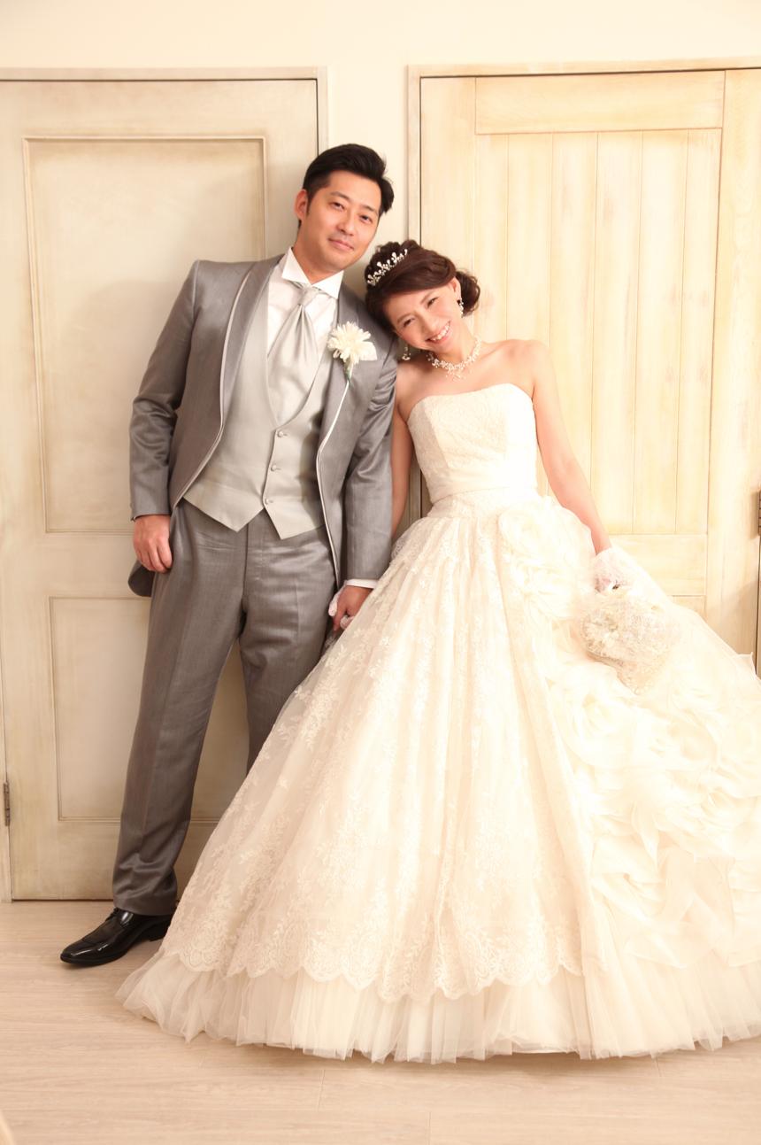 前撮り結婚写真