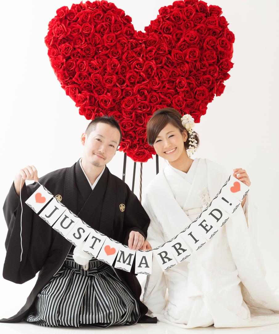 和装結婚写真