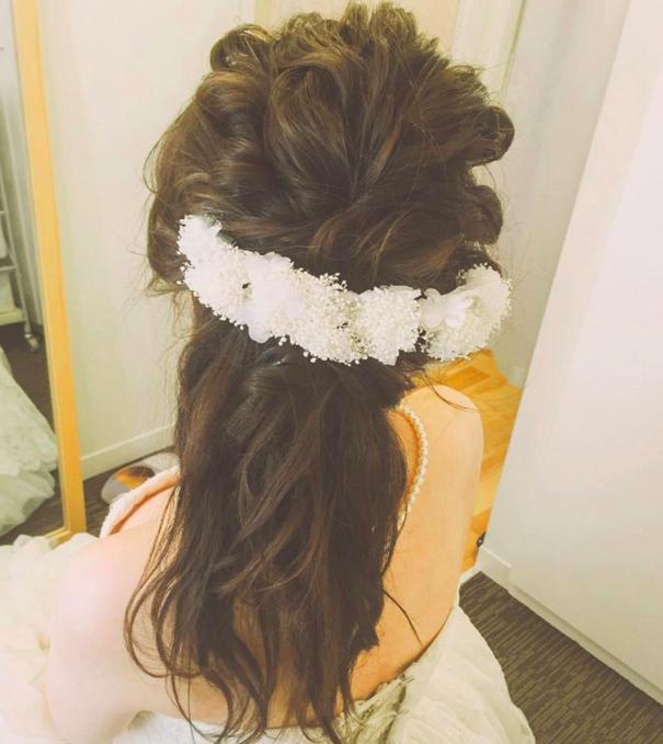 花嫁ヘアスタイル