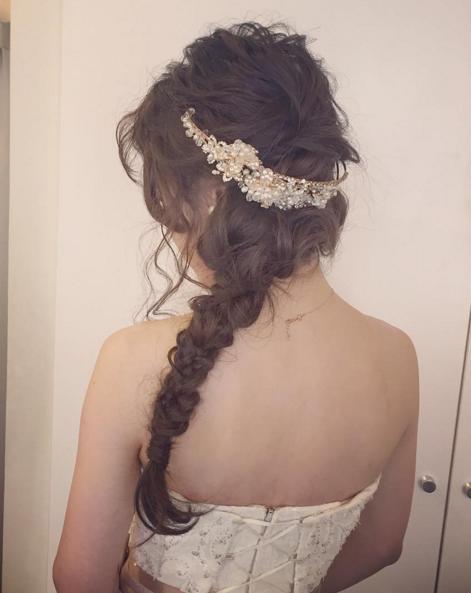 結婚式ヘア