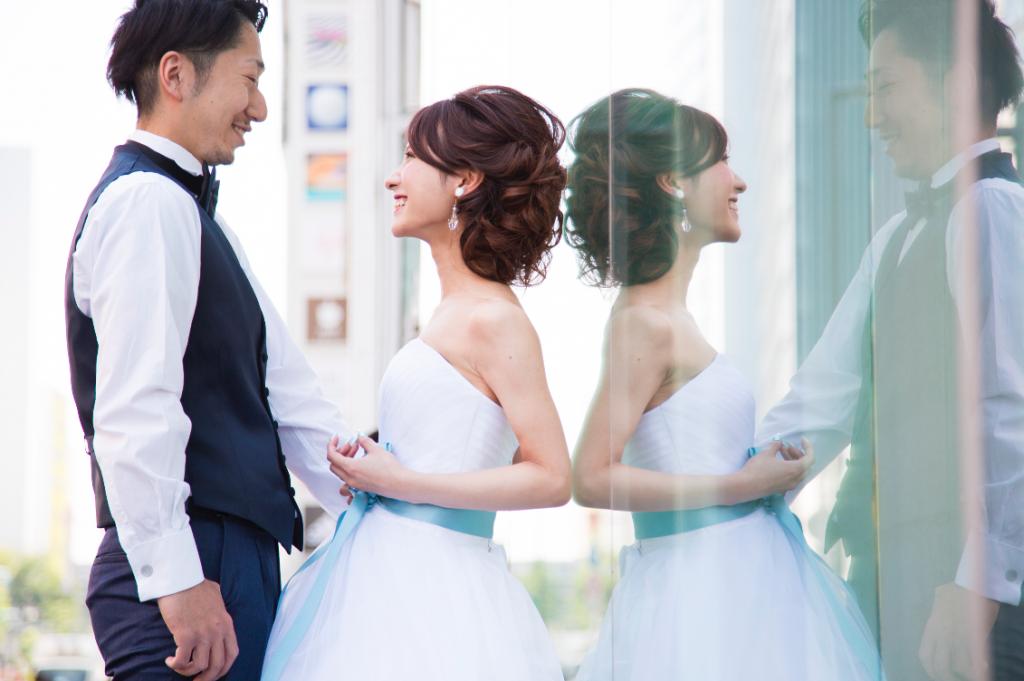 婚礼ロケーション写真