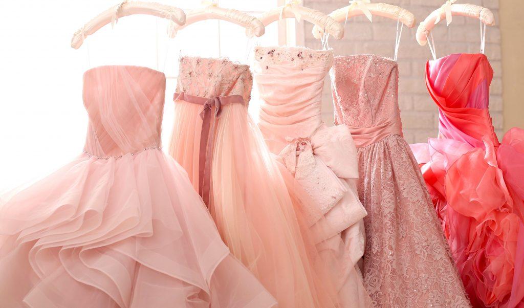 aim表参道店憧れピンクドレス