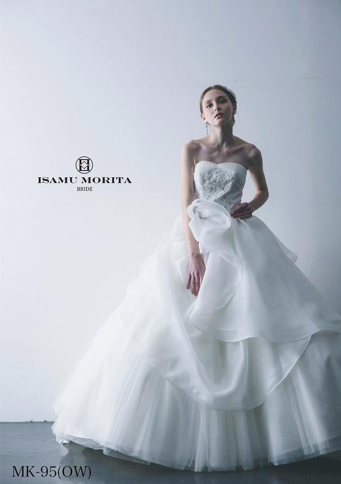 イサム モリタ ウェディングドレス