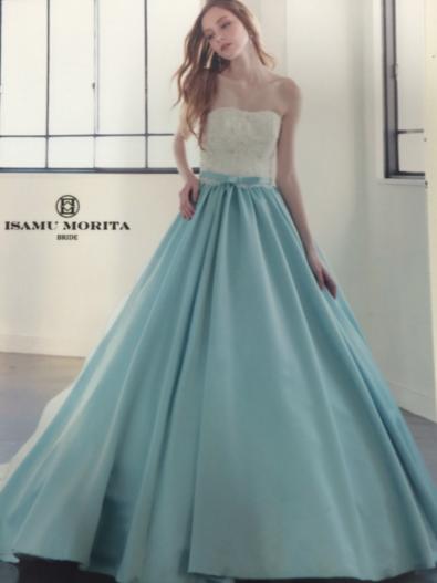 イサム モリタ カラードレス