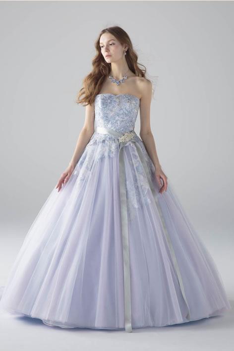 イサム モリタ カラードレス ブルー