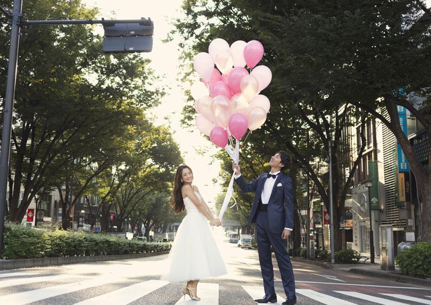 結婚写真 東京 ドレス
