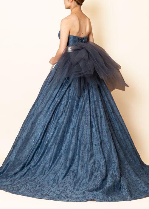 aim東京原宿店の新作ブルーのカラードレス