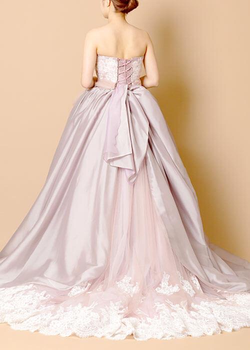 aim東京原宿店の新作ピンクパープルカラーのドレス